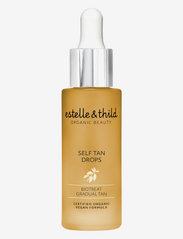 Estelle & Thild - Self Tan drops - tanning - clear - 0