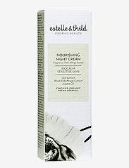 Estelle & Thild - BioCalm Nourishing Night Cream - yövoide - clear - 1