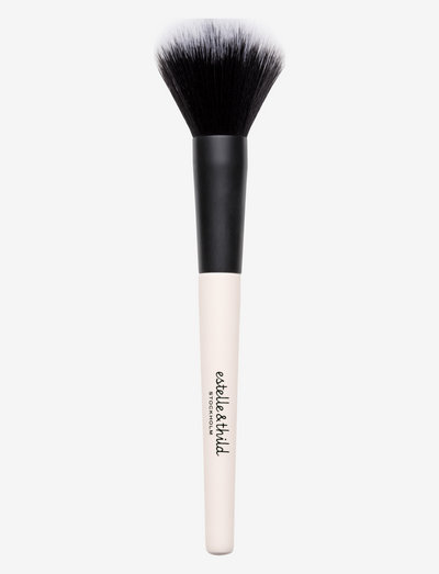 Silky Finishing Powder Brush - meikkisiveltimet - clear