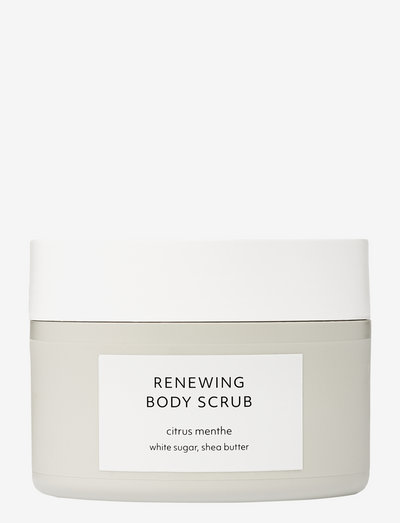 Citrus Menthe Renewing Body Scrub - skrub - no colour