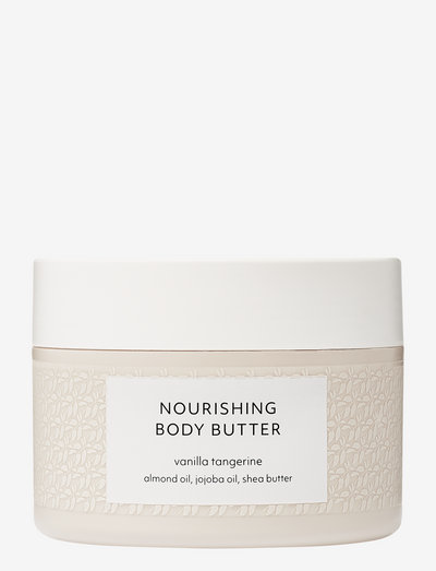 Vanilla Tangerine Nourishing Body Butter - body cream - no colour