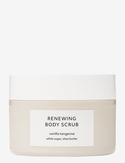 Vanilla Tangerine Renewing Body Scrub - skrub - no colour