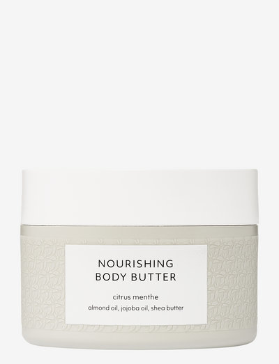 Citrus Menthe Nourishing Body Butter - body cream - no colour