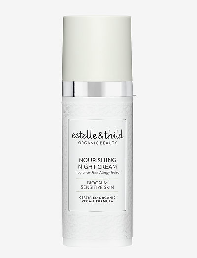 BioCalm Nourishing Night Cream - yövoide - clear