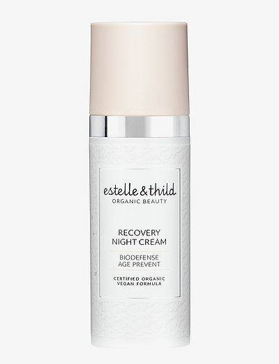 BioDefense Recovery Night Cream - yövoide - clear