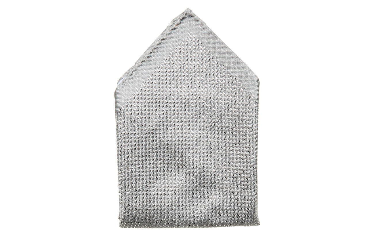 Eton Shimmering Pocket Square - BLACK