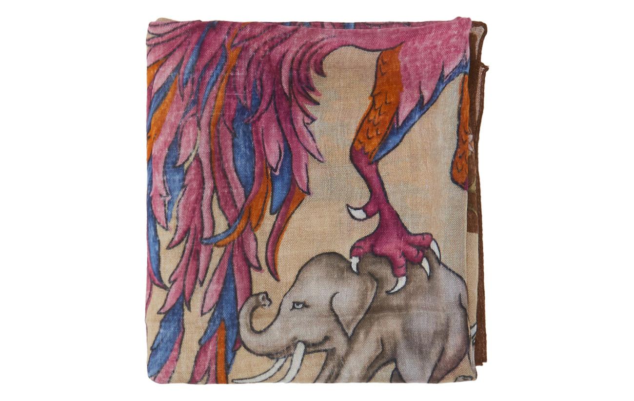 Bandanaoffwhite Elephant Print Print brownEton Bandanaoffwhite Elephant brownEton wTkuOPZXi