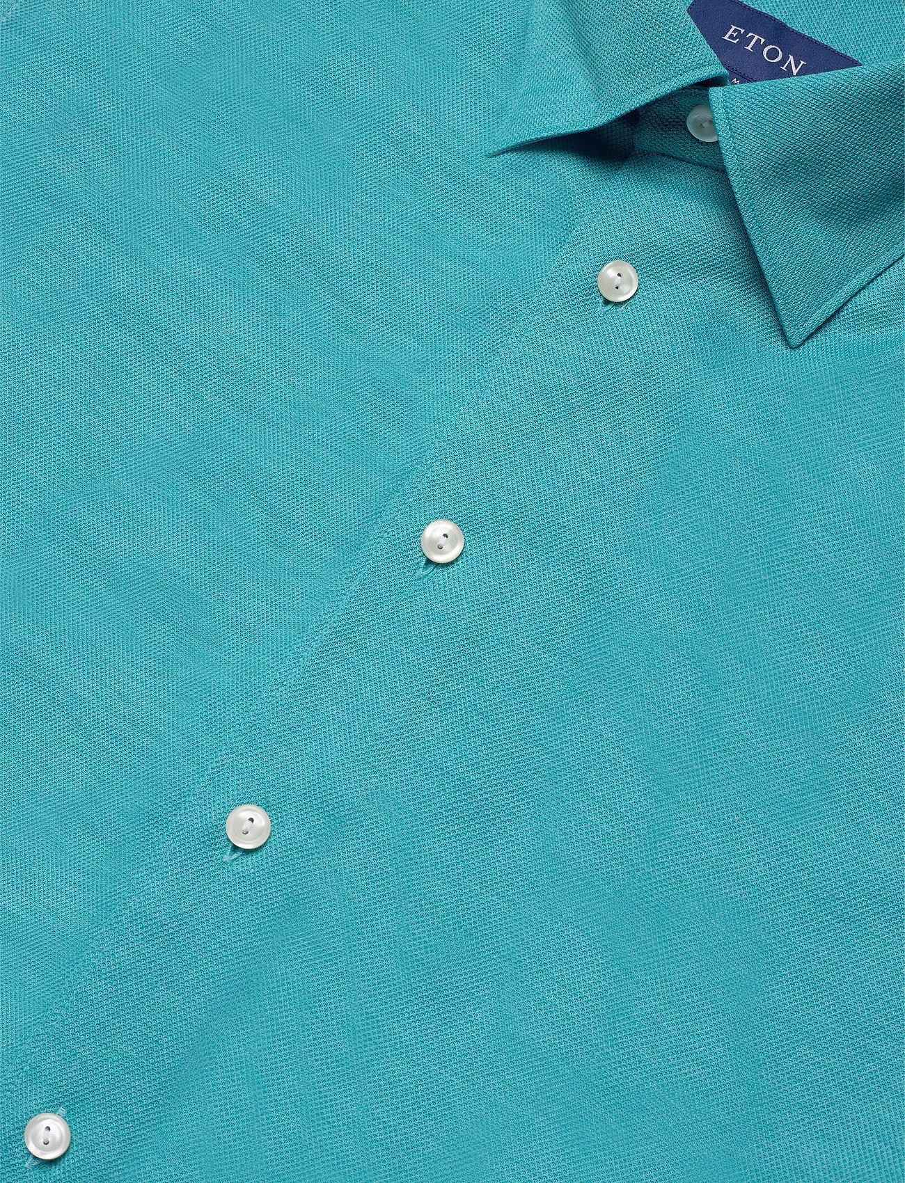 Eton Polo shirt - long sleeved - Skjorter BLUE - Menn Klær