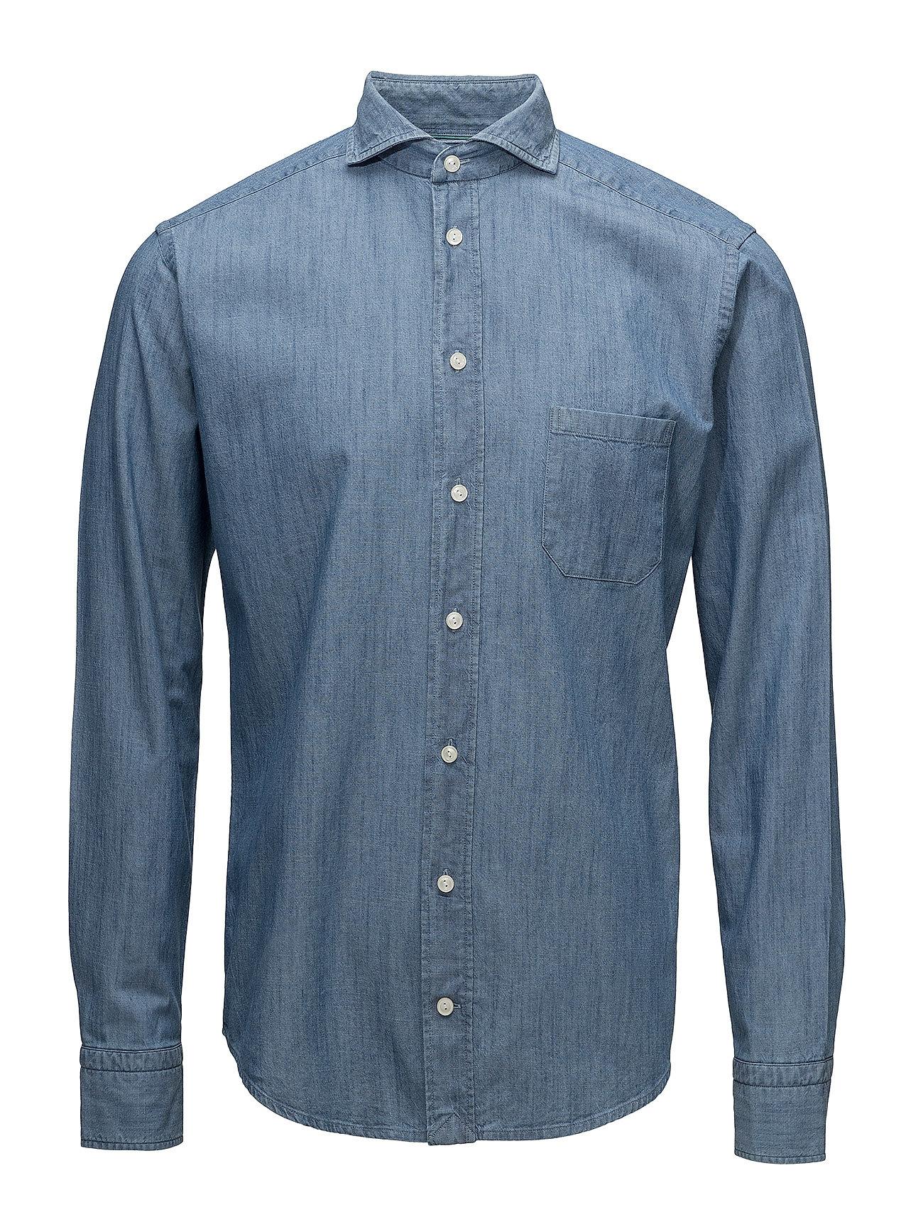 Eton Indigo-Slim fit - BLUE