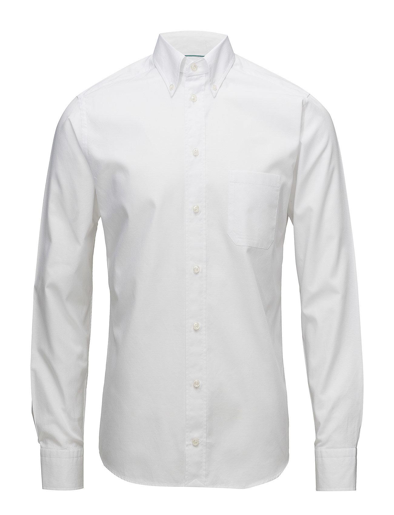 Eton Oxford-Slim fit - WHITE