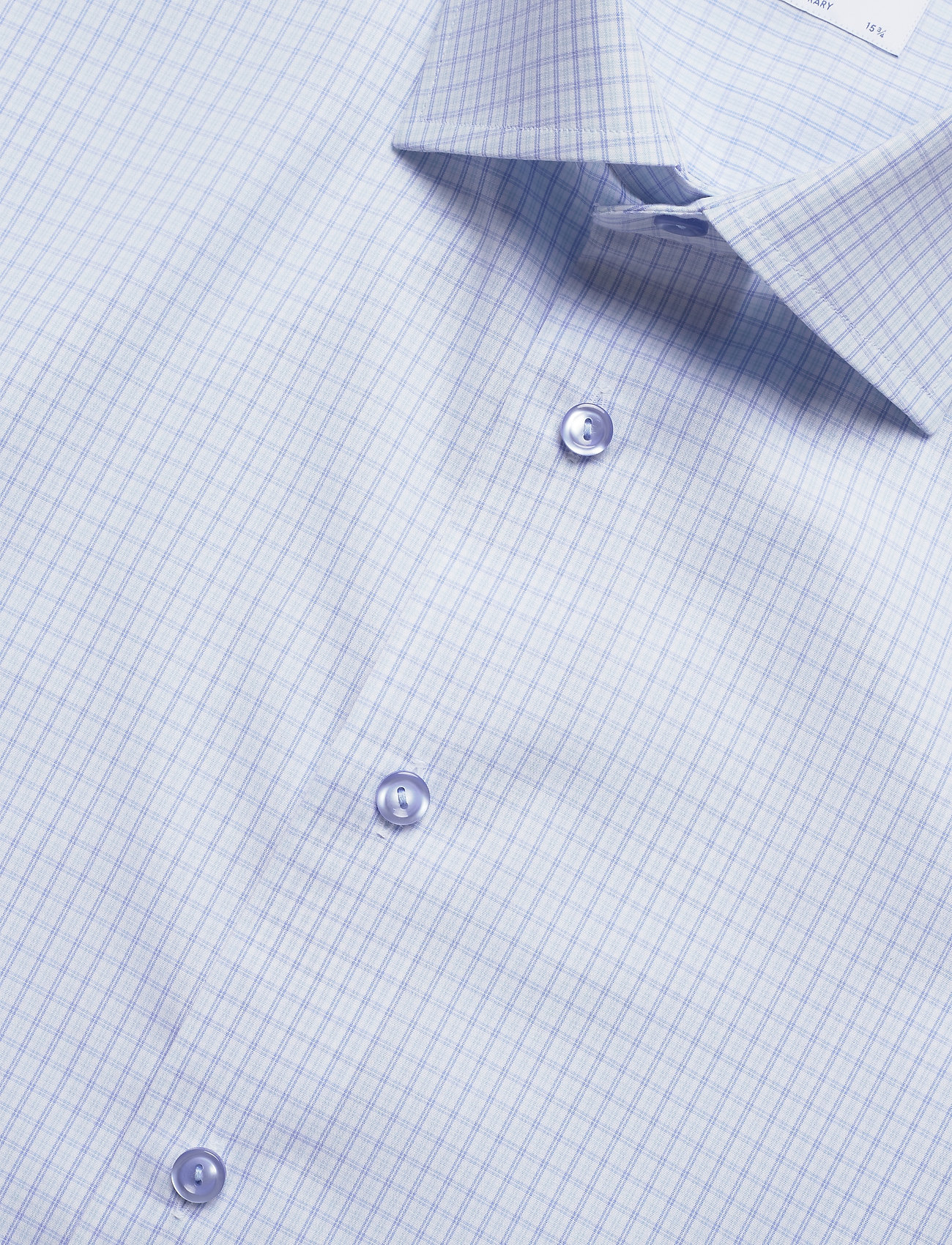 Eton Sky Blue & Green Checked Poplin Shirt - Skjorter BLUE - Menn Klær