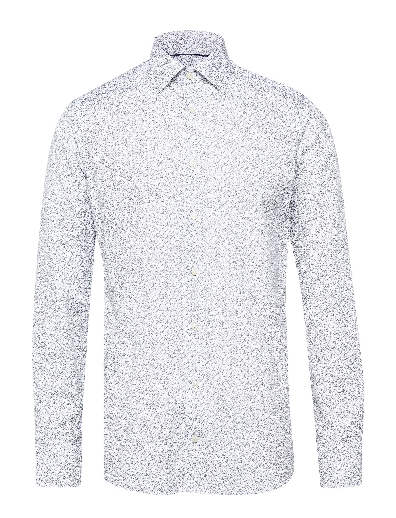 Eton Floral Poplin Shirt - WHITE