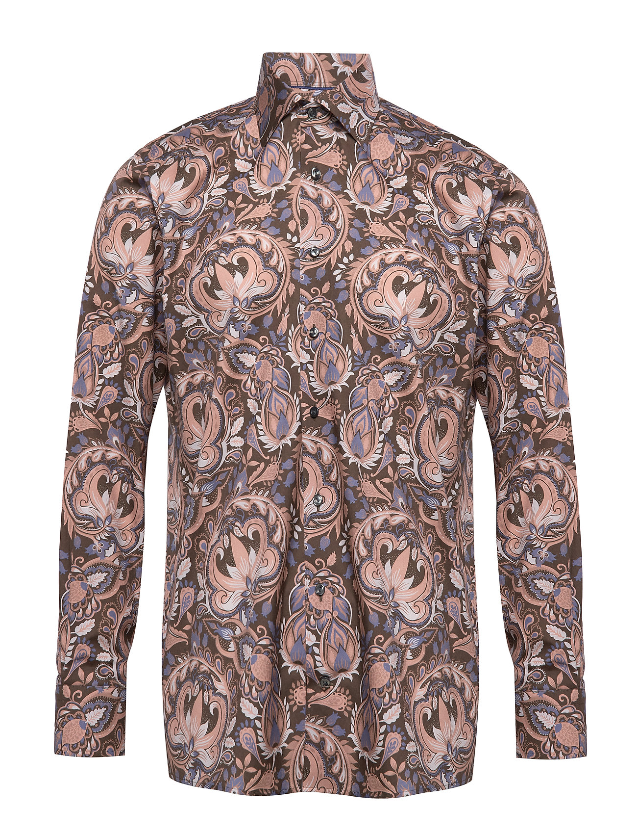Eton Bold Paisley Print Shirt - Contemporary fit - BLUE