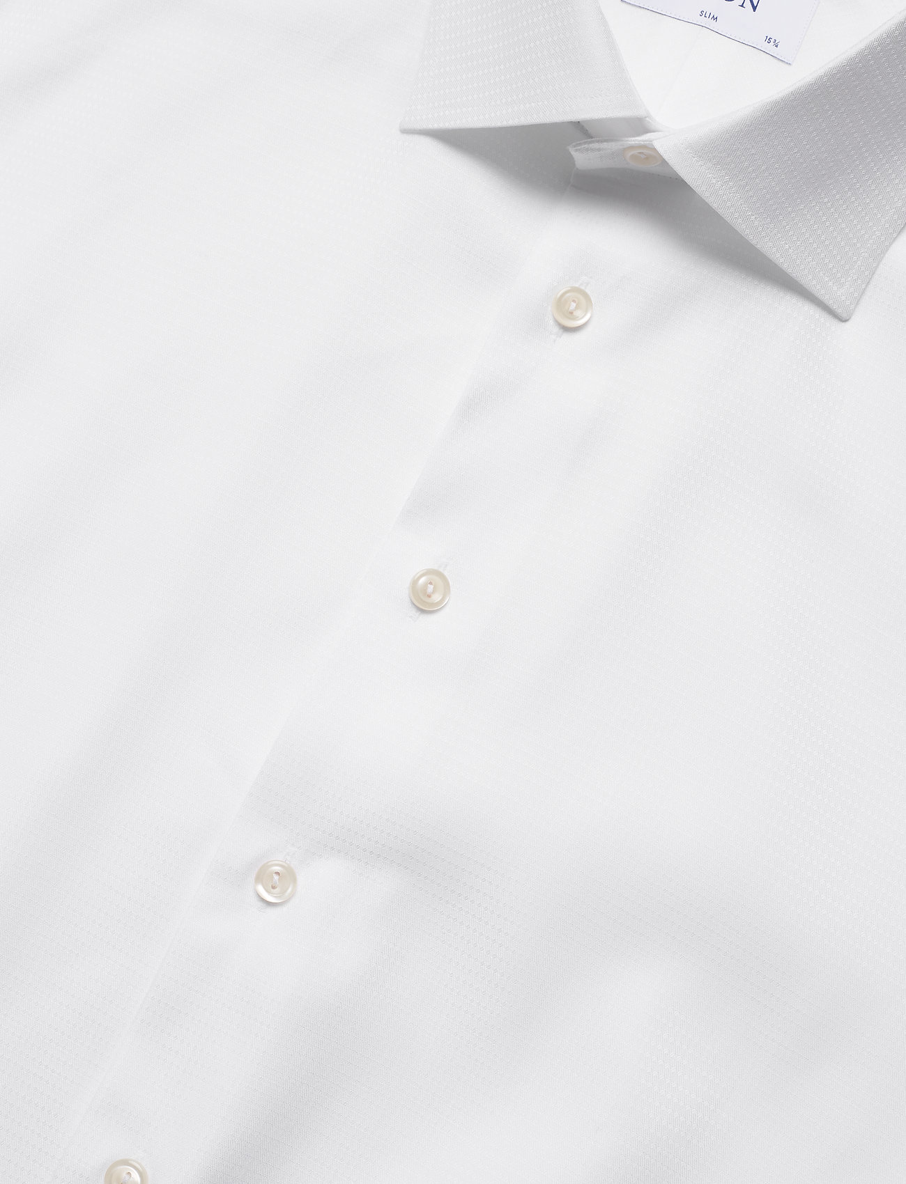 Eton Micro weave twill shirt - french cuffs - Skjorter WHITE - Menn Klær