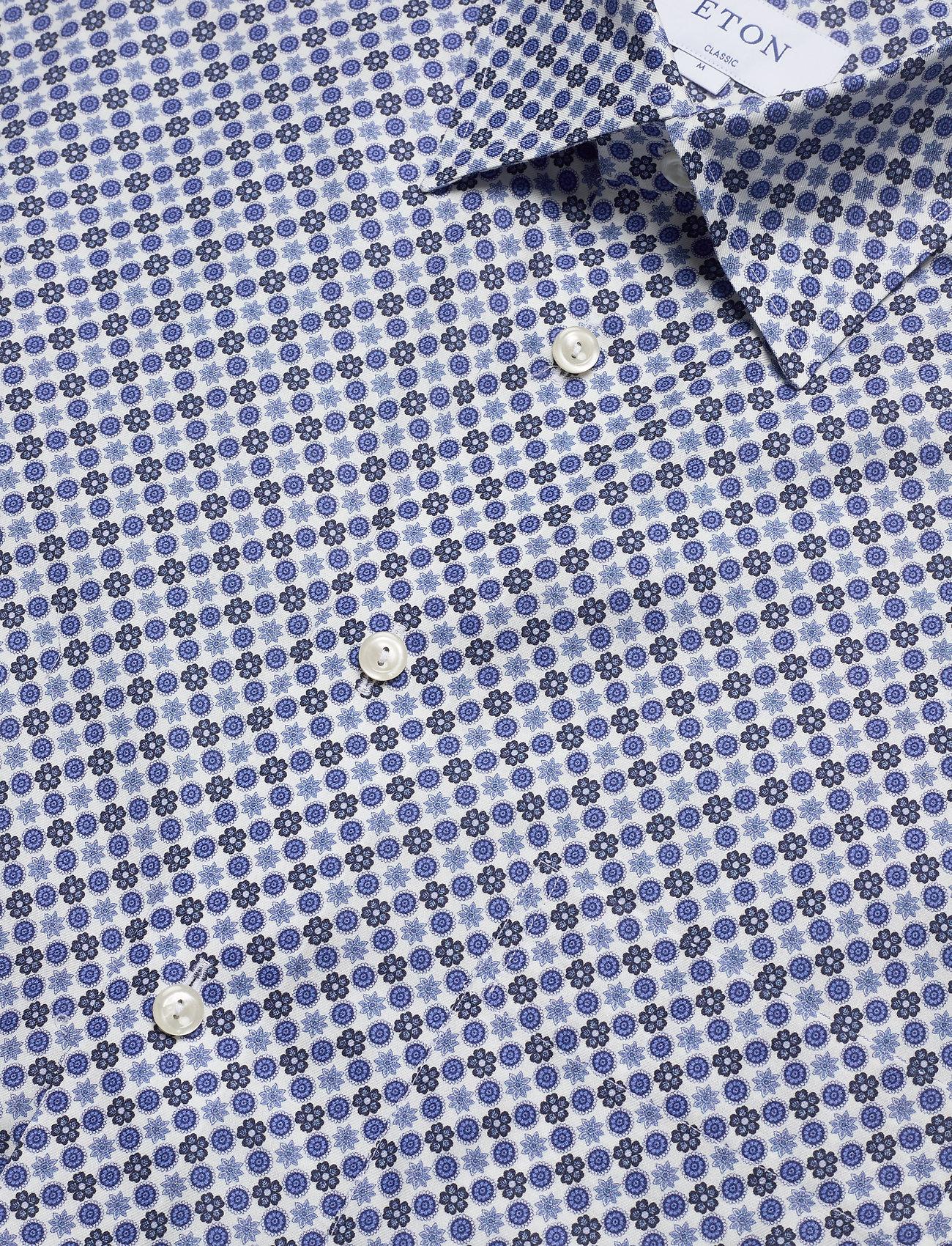 Eton Eton midi medallion print shirt - Skjorter BLUE - Menn Klær