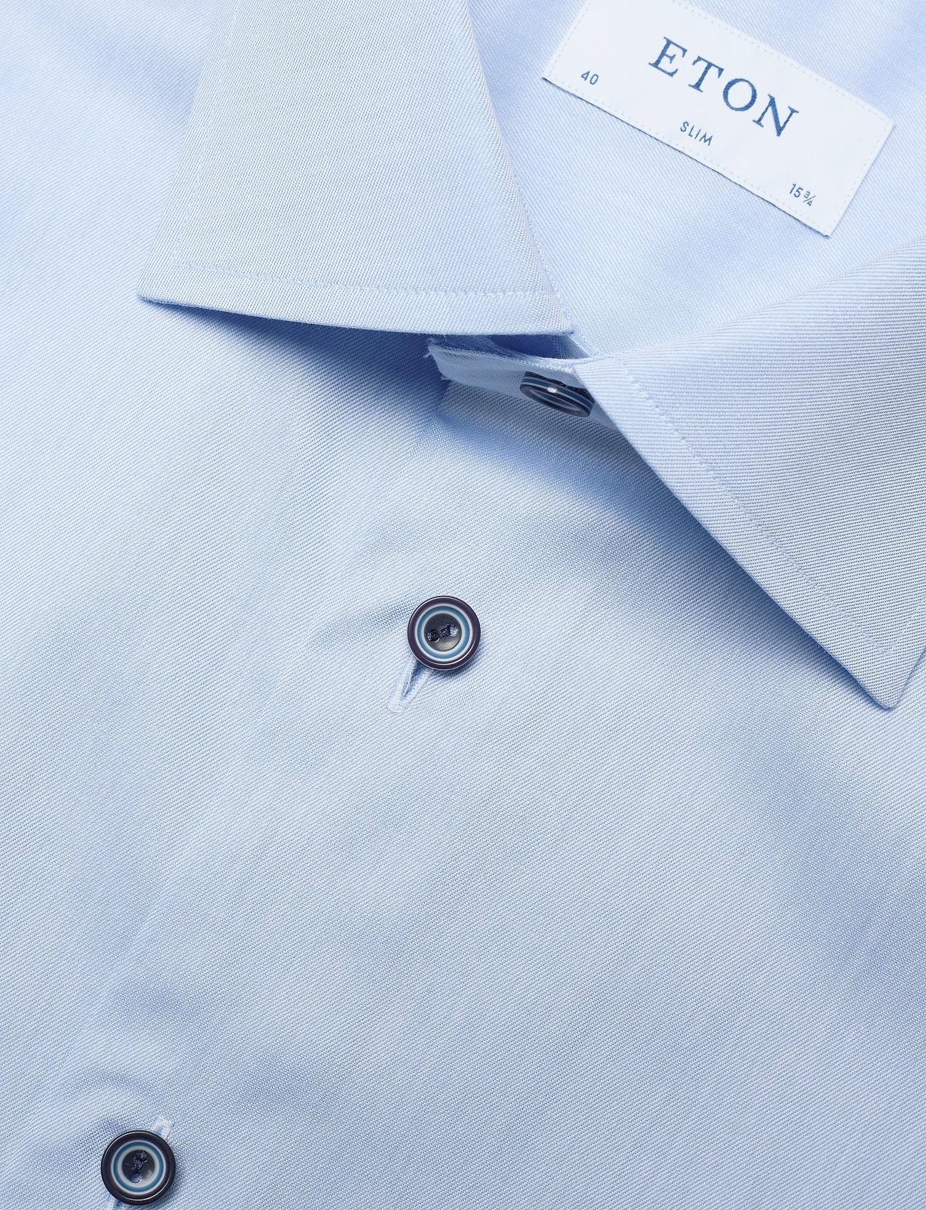Eton Signature Twill - Skjorter BLUE - Menn Klær