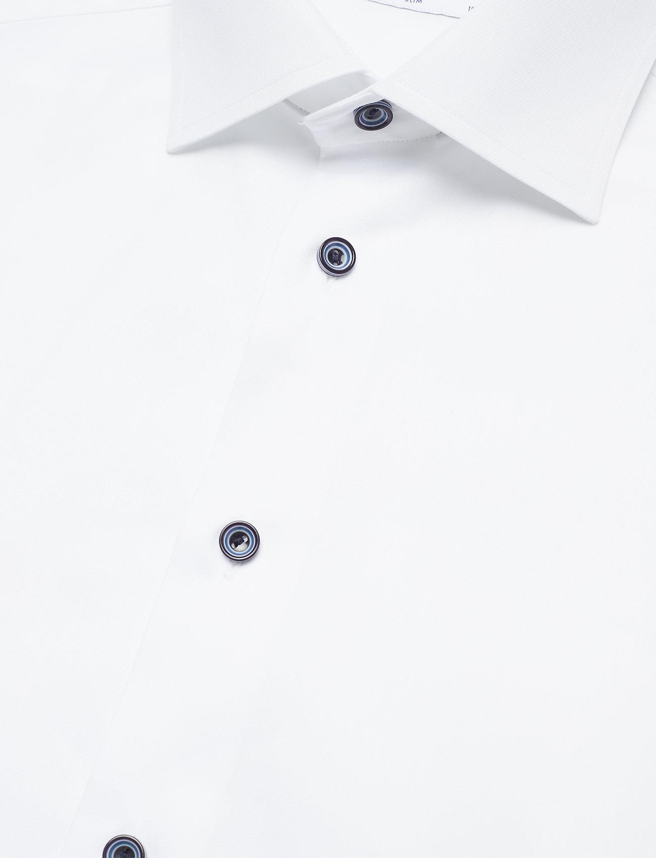 Eton Signature Twill - Skjorter WHITE - Menn Klær