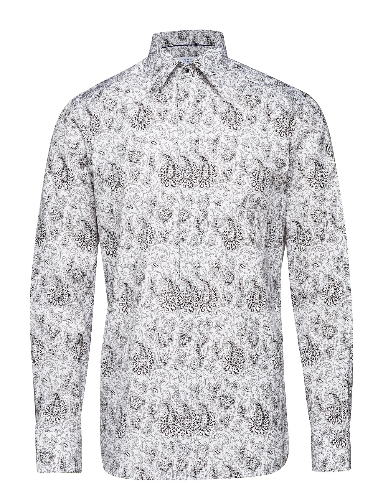 Eton White Paisley Evening Shirt - WHITE