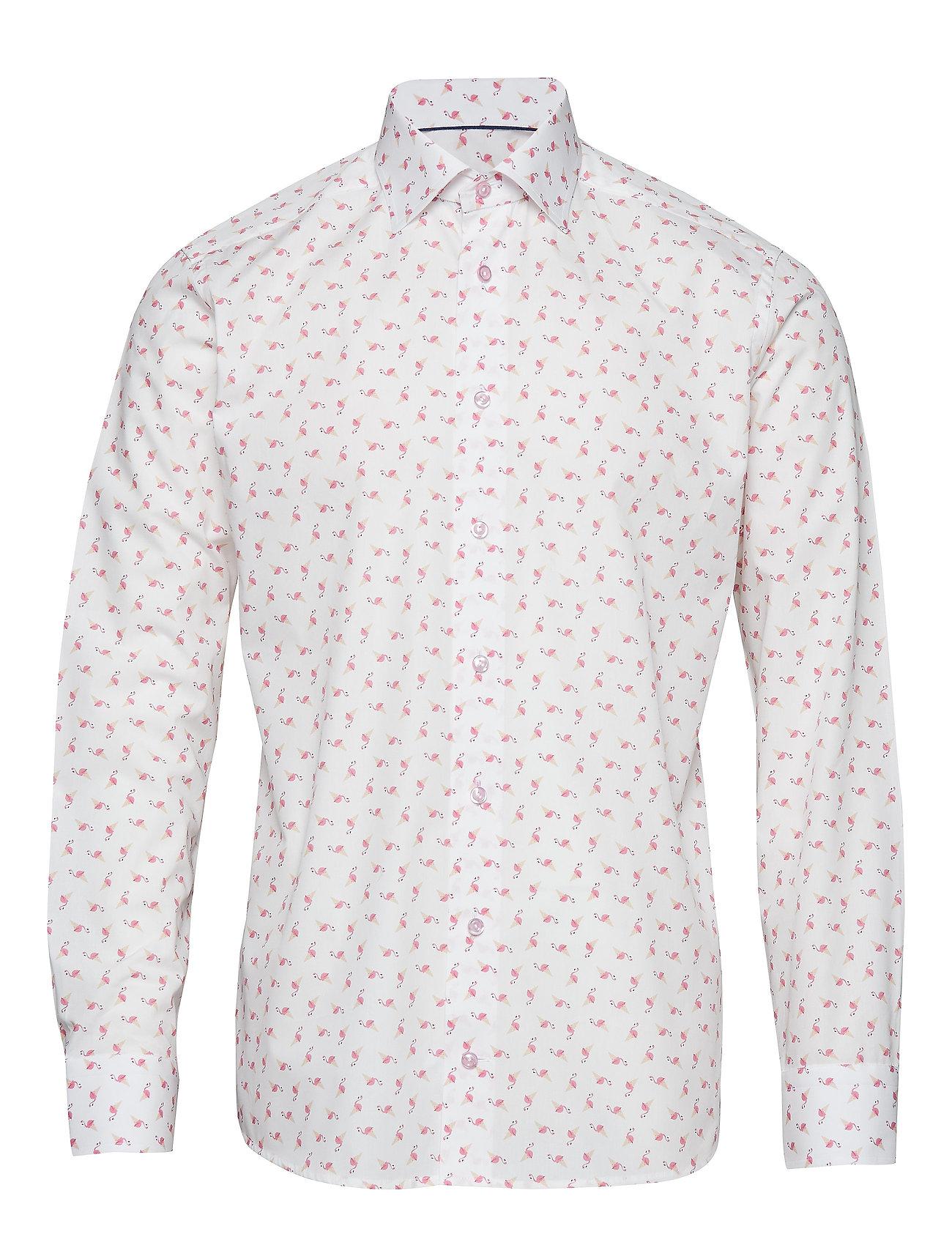 Eton Ice Cream Flamingo Shirt