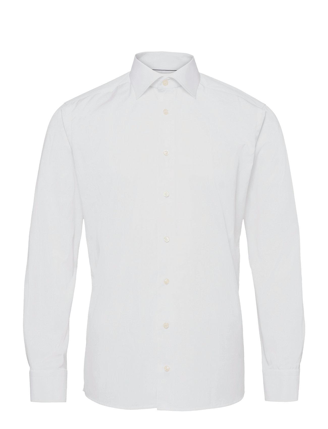 Eton Poplin-Slim fit - WHITE