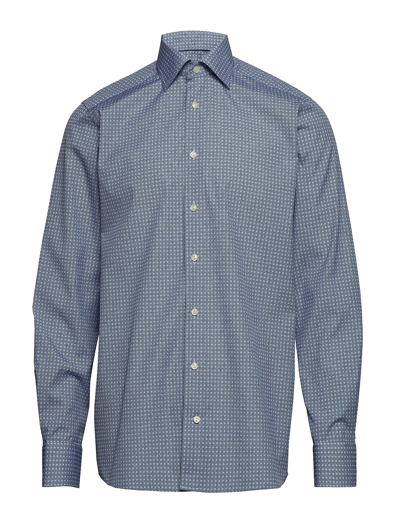 Eton - Geometric Print Shirt - Contemporary fit - chemises business - blue