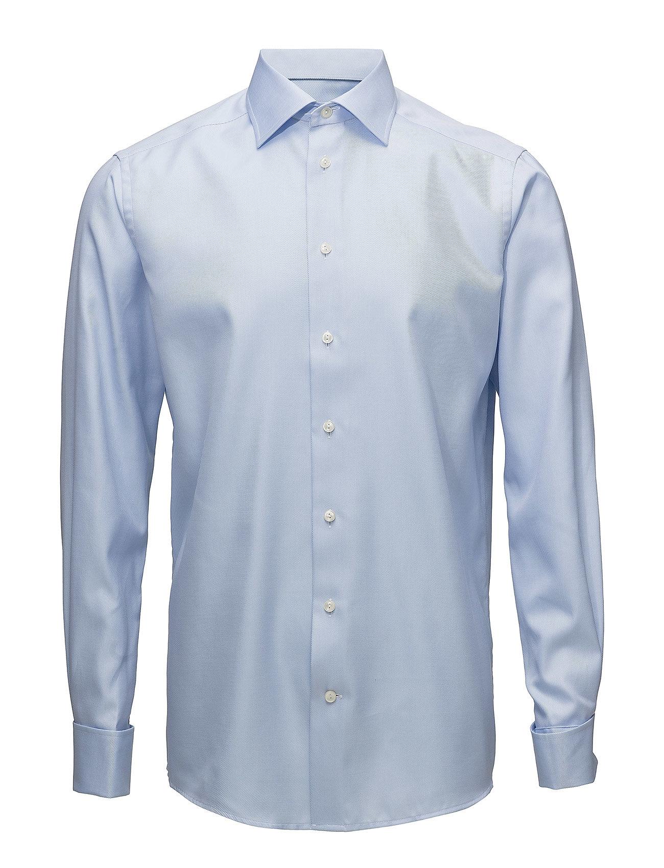 Eton Textured Twill-Contemporary - BLUE