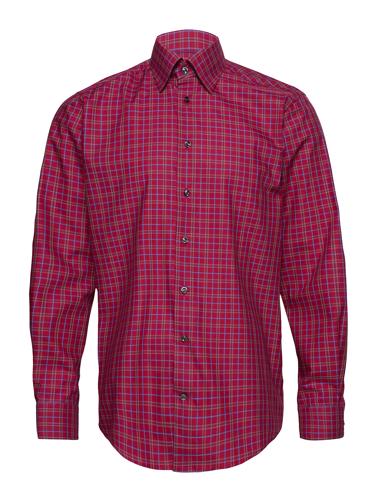 Eton Red Check Shirt - PINK/RED
