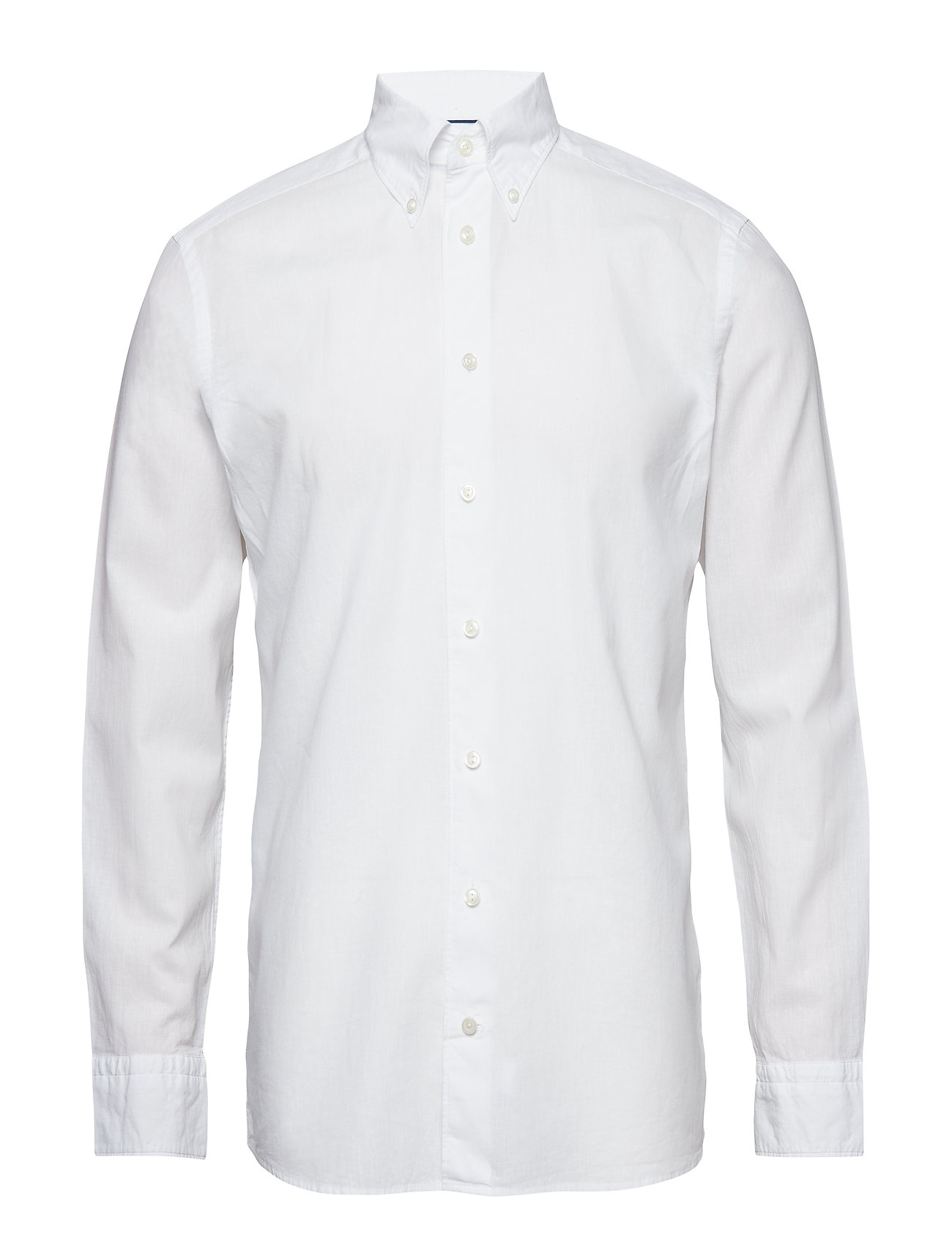 Eton White Cotton & Linen Shirt - WHITE