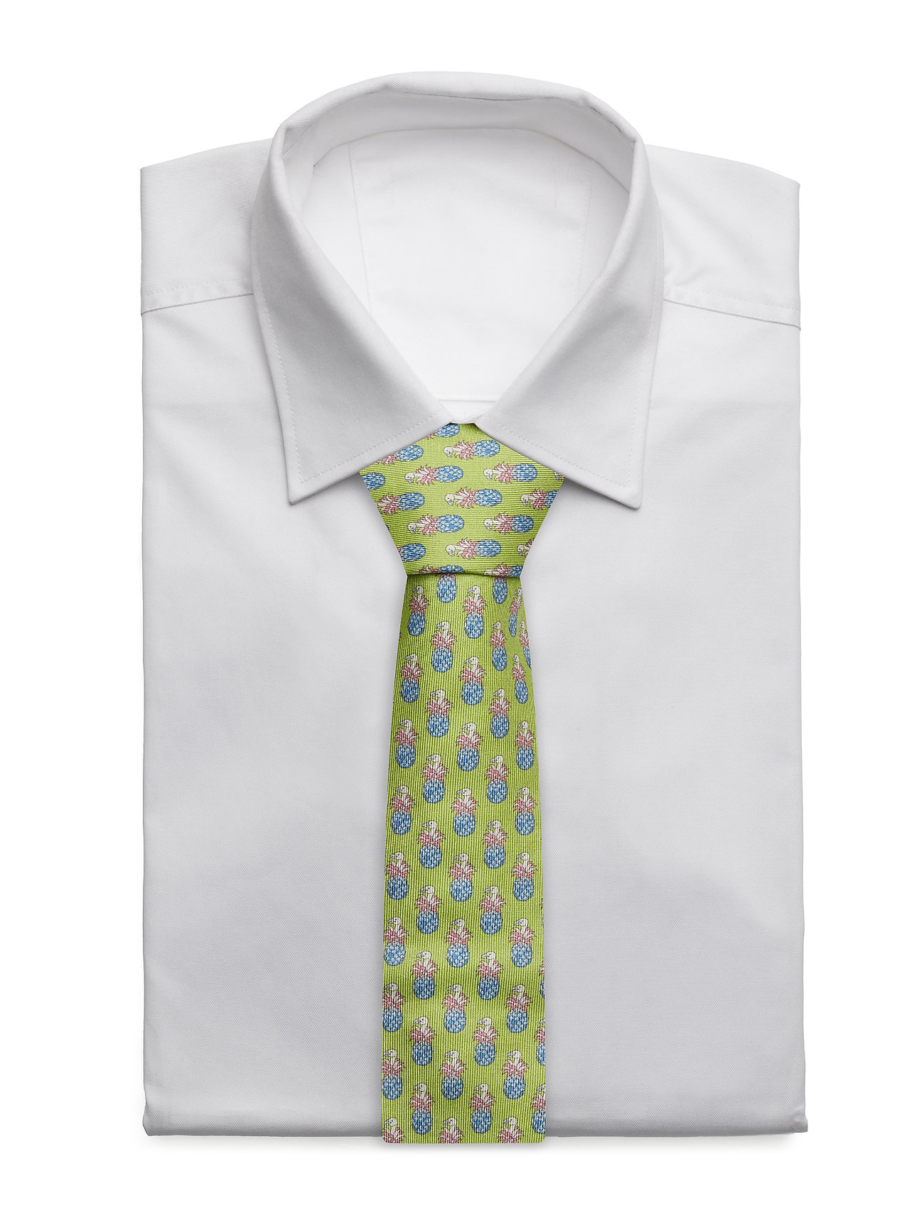 Eton - Red Condanas Print Tie - ties - green