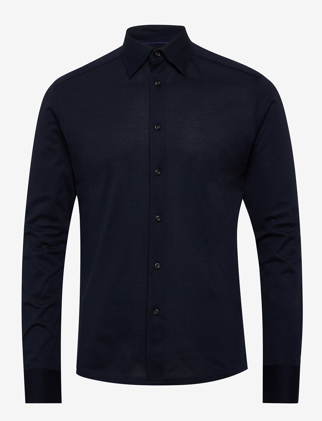 Eton - Polo shirt - long sleeved - basic shirts - blue