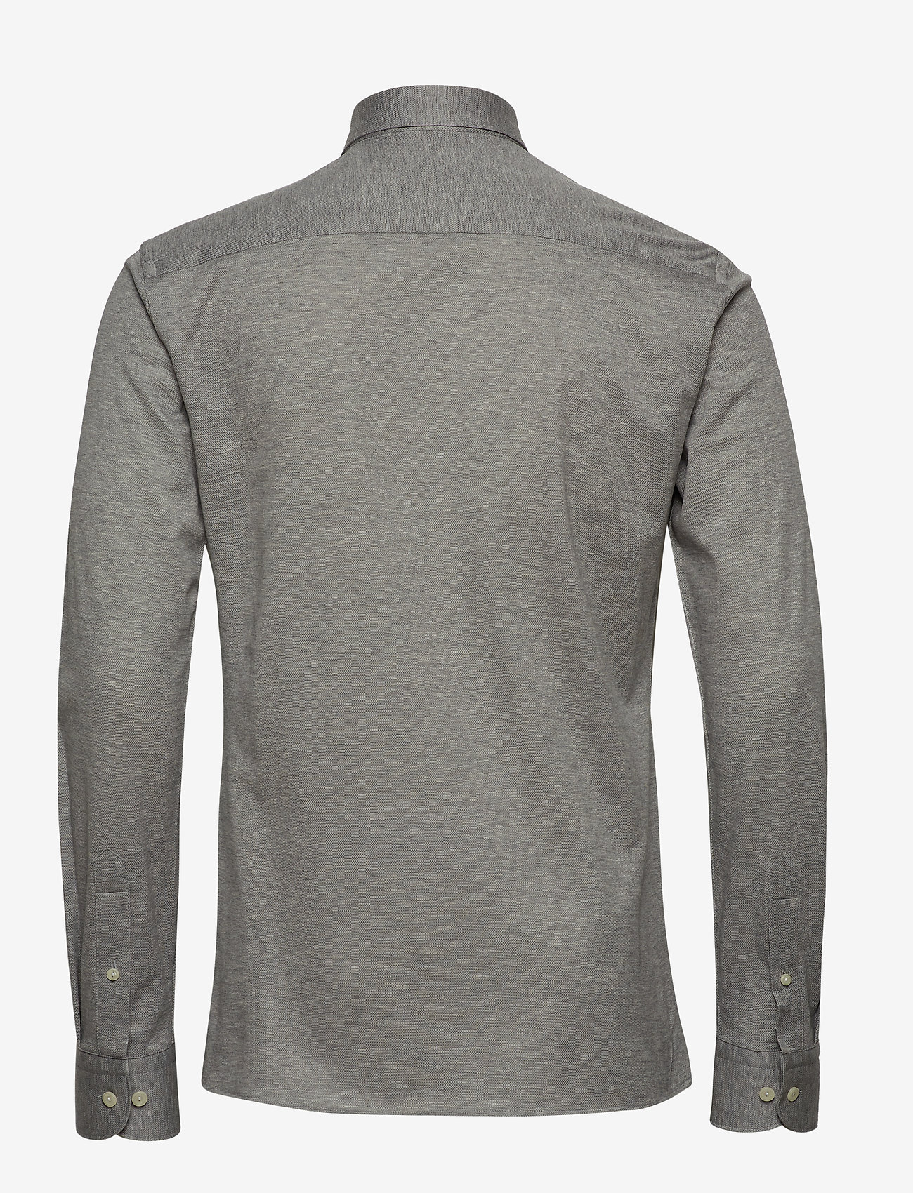 Eton Polo shirt - long sleeved - Skjorter GREY - Menn Klær