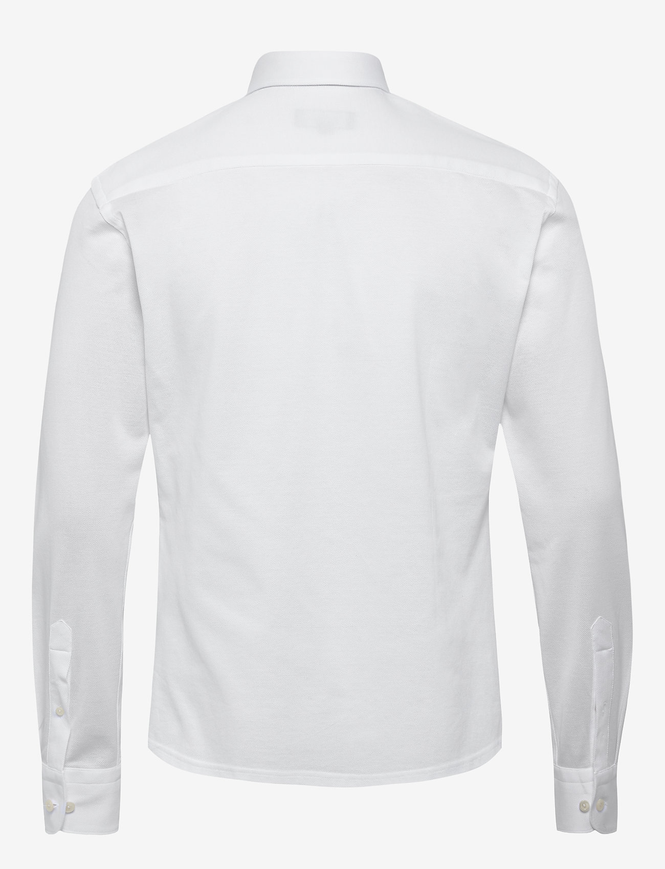 Eton Polo shirt - long sleeved - Skjorter WHITE - Menn Klær