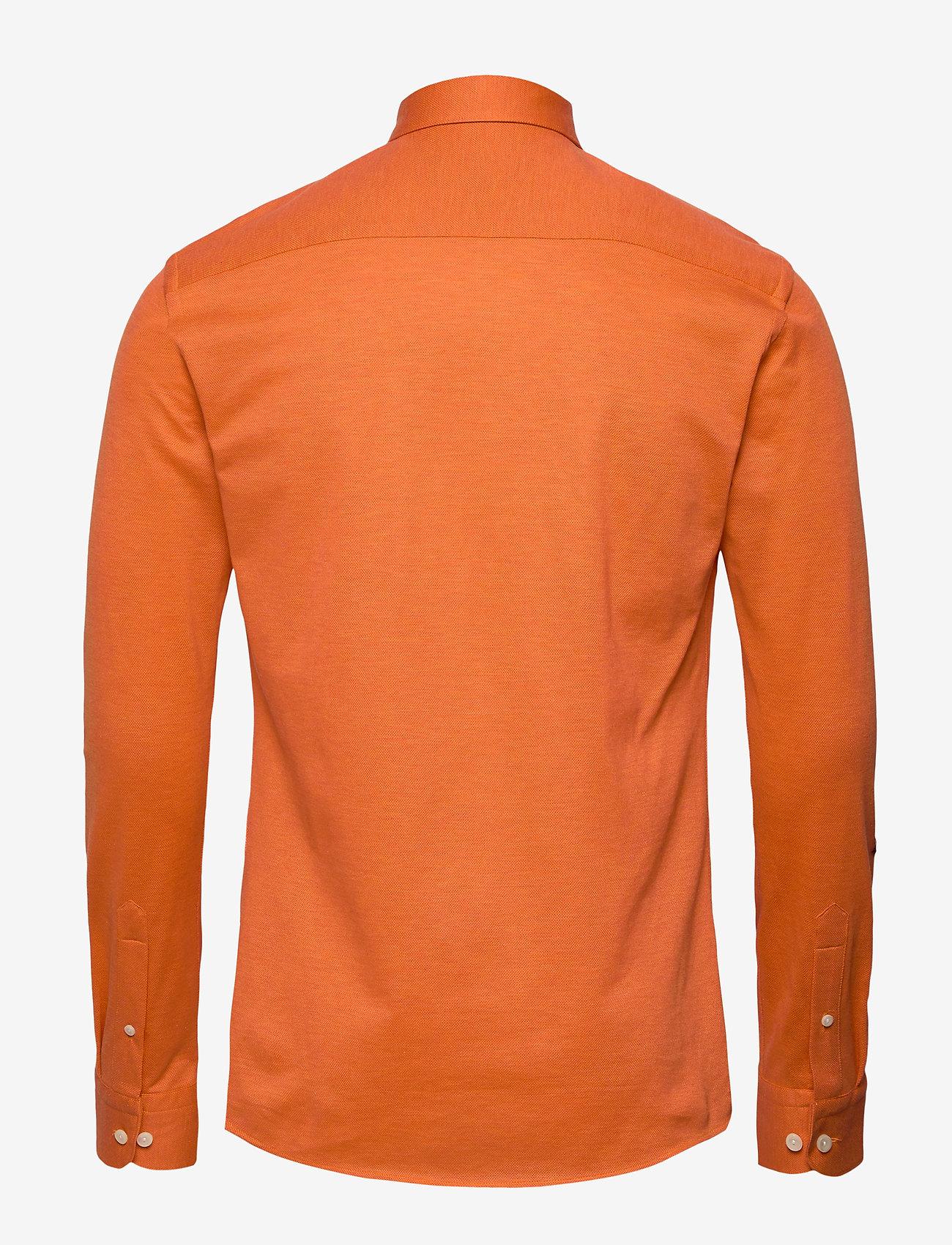 Eton Polo shirt - long sleeved - Skjorter YELLOW/ORANGE - Menn Klær