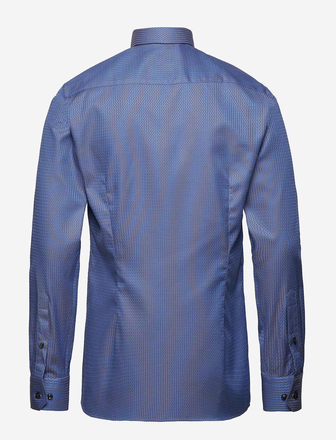 Blue & Beige Jacquard Shirt (Blue) (1019.40 kr) - Eton