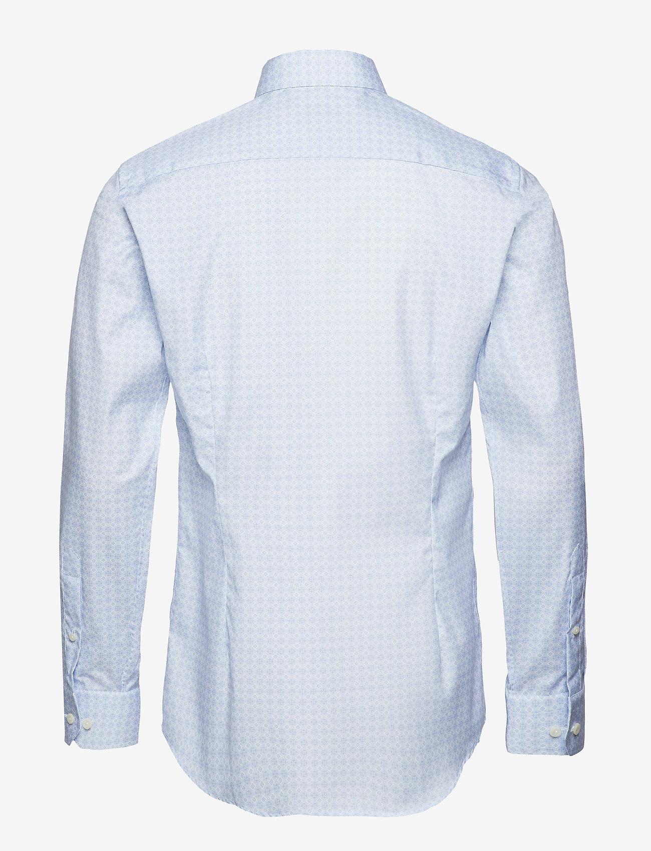 Eton Navy twill shirt - Skjorter BLUE - Menn Klær