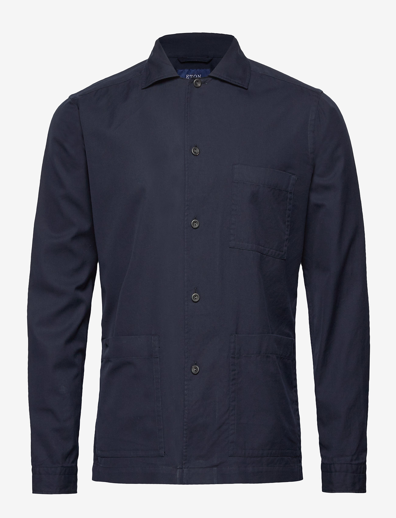 Särskild rabatt3-pocket Overshirt Blue 1199.40 Eton 2KR0Z OhxoI