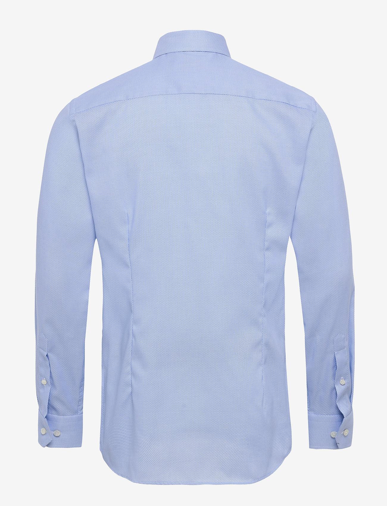 Eton Dobby shirt - Skjorter LIGHT BLUE - Menn Klær