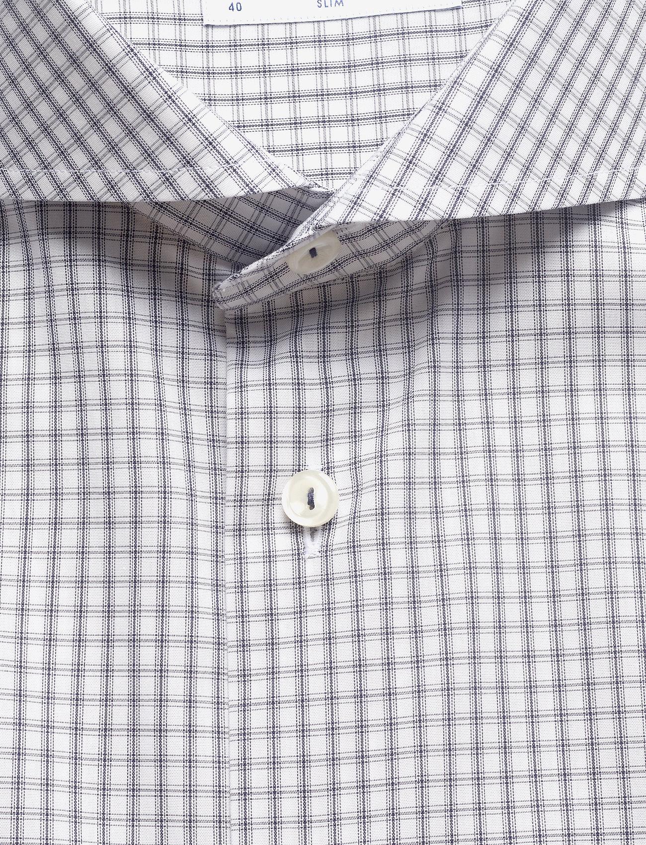 Eton Checks poplin shirt - Skjorter NAVY - Menn Klær