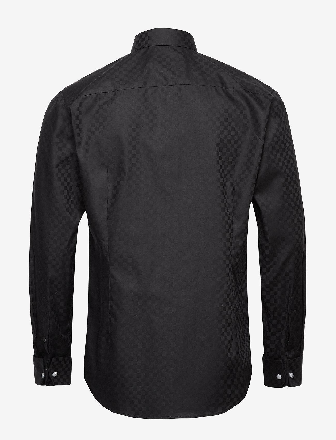 Eton Chessboard check evening shirt - Skjorter BLACK - Menn Klær