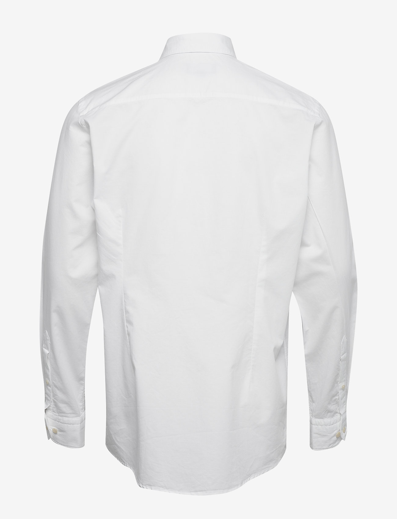 White Cotton Silk Shirt - Soft (White) - Eton GCV2CQ