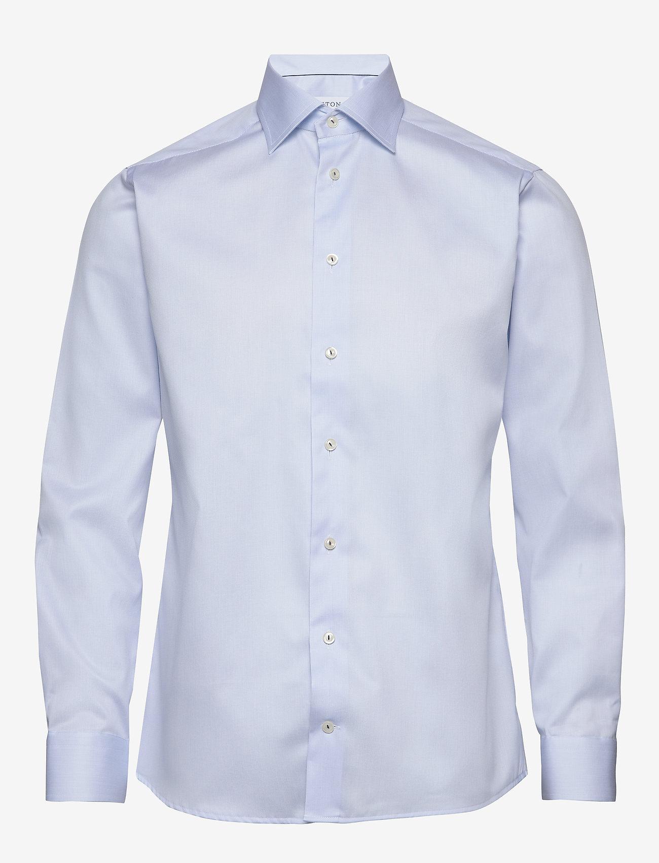 Eton - Royal twill shirt - peruspaitoja - blue