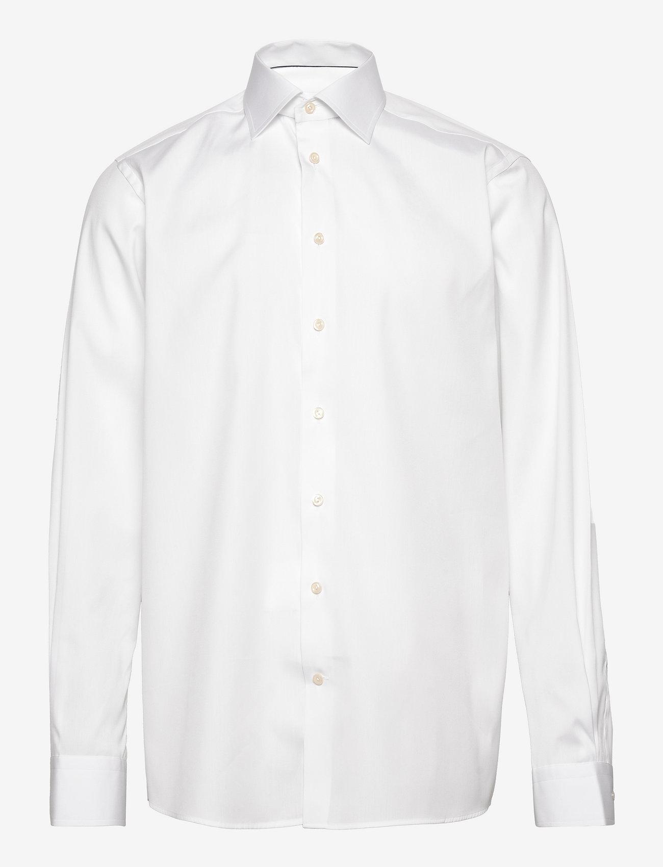 Eton - Poplin - Contemporary fit - basic skjorter - white - 0