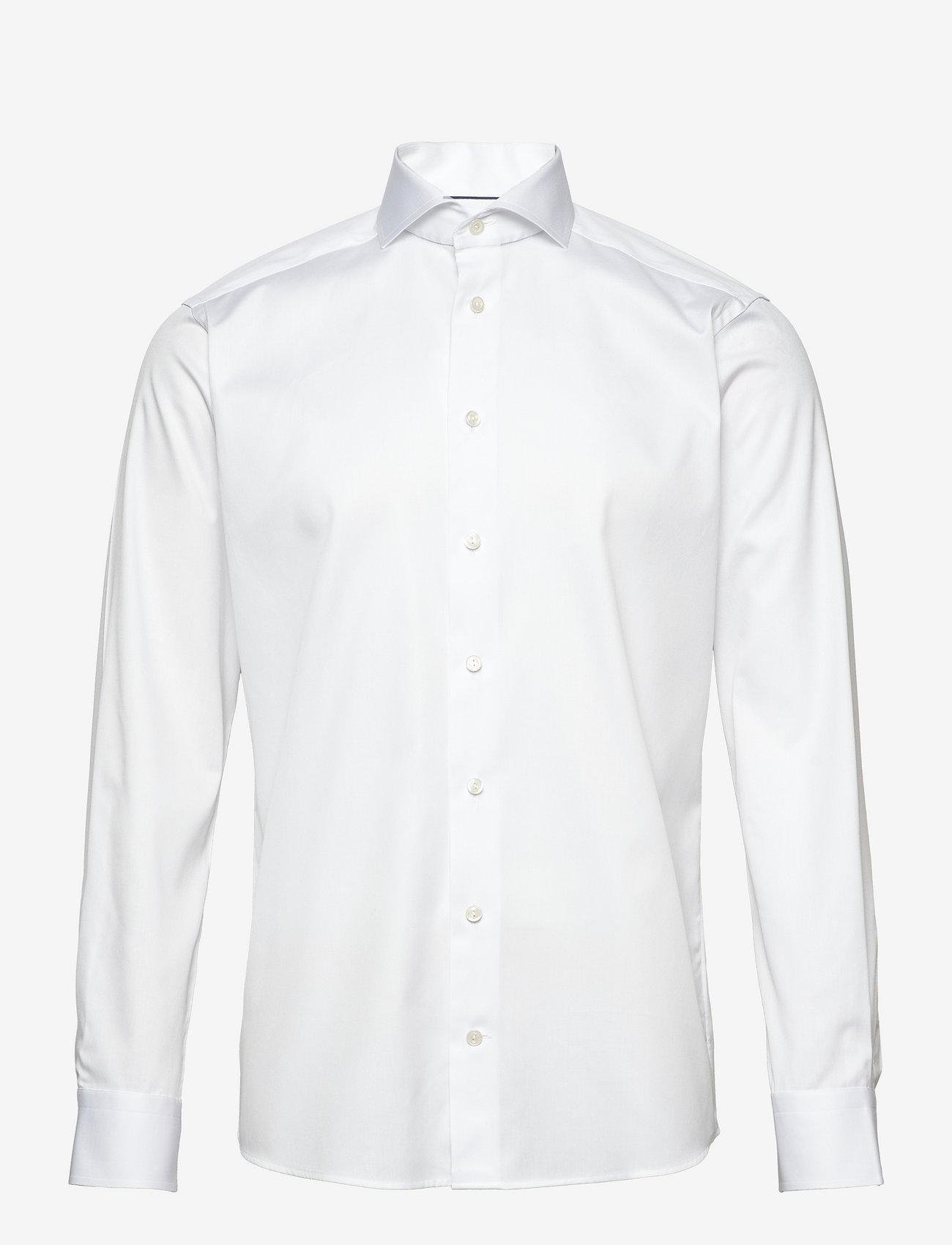 Eton - Signature Twill-Slim fit - peruspaitoja - white - 0