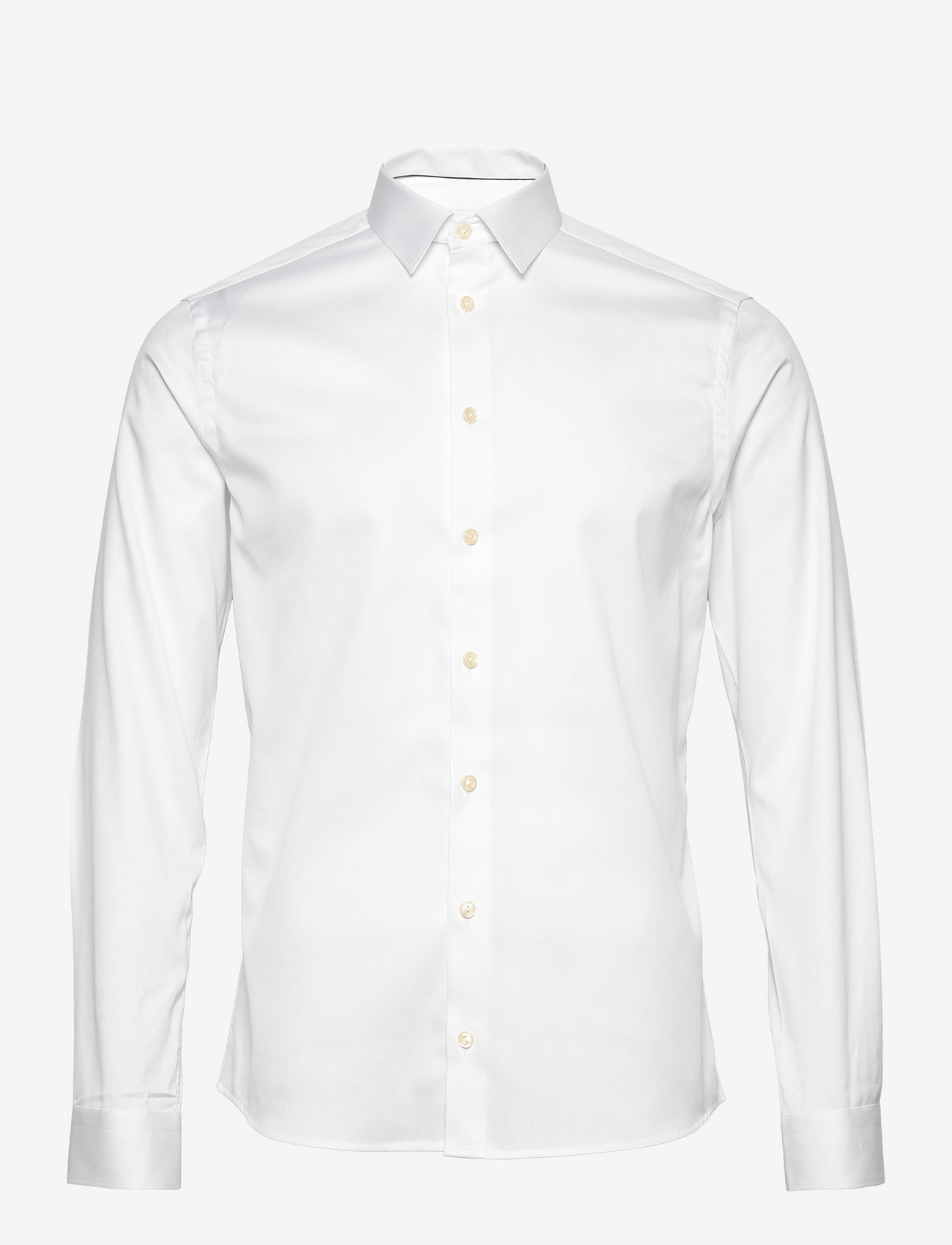 Eton - Signature Twill-Super slim - basic skjorter - white - 0