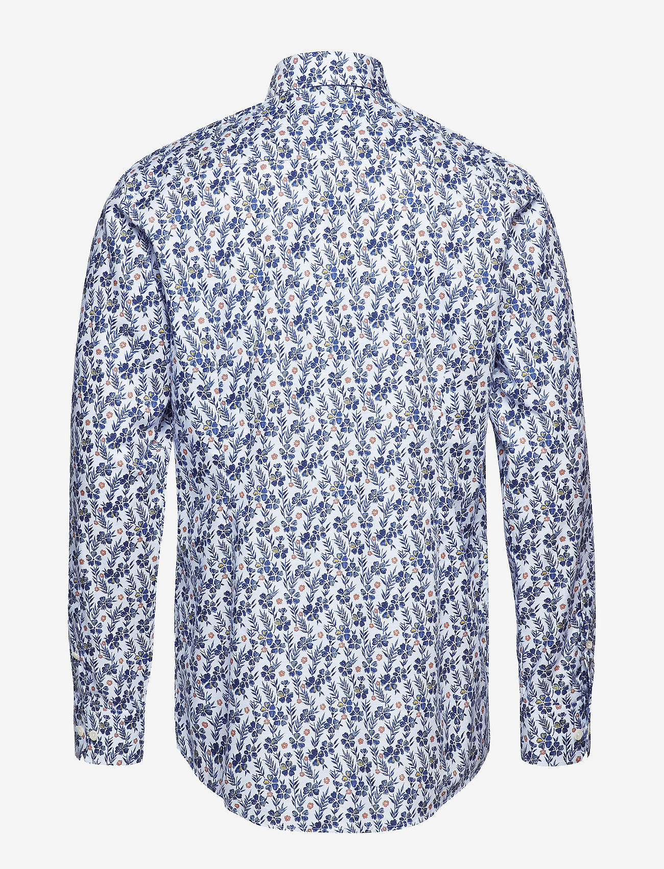 Eton Floral Print Twill Shirt - Contemporary Fit Shirts