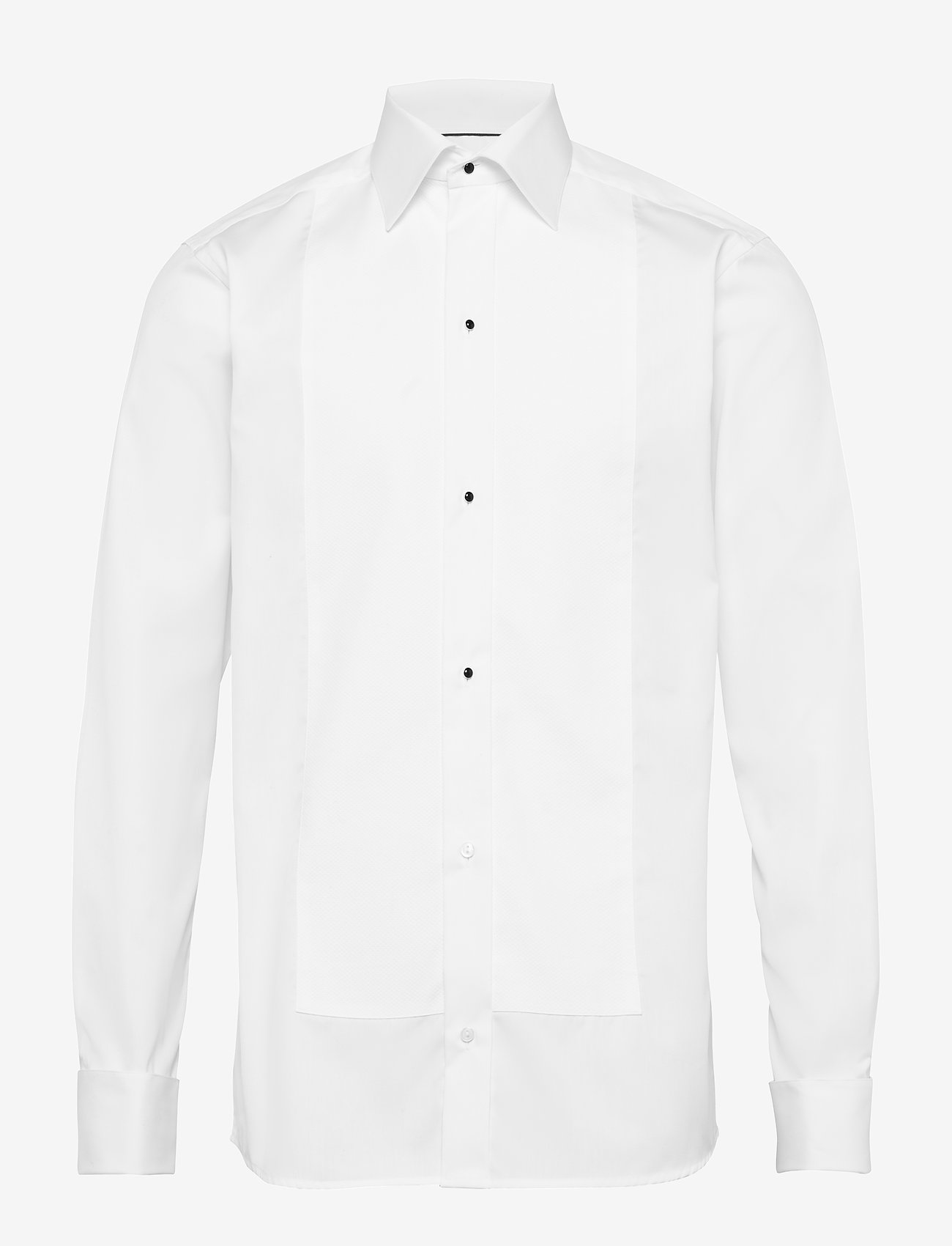Eton - Pique-Slim fit - basic skjortor - white - 0