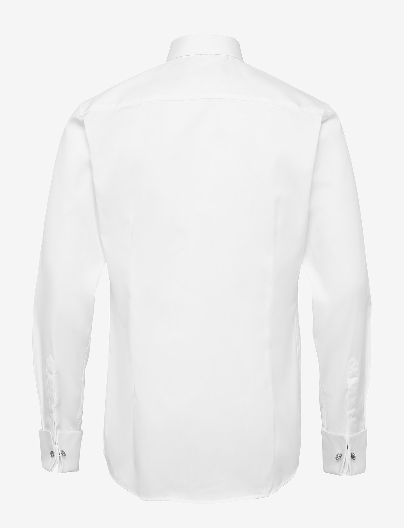 Eton - Pique-Slim fit - basic skjortor - white - 1