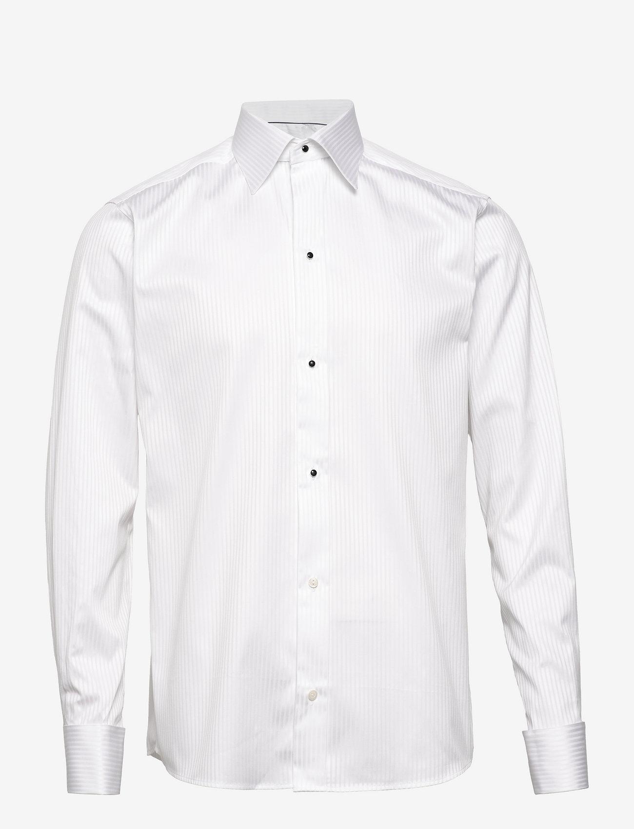 Eton - Palladium-Evening-Slim fit - puuvillapaidat - white - 0