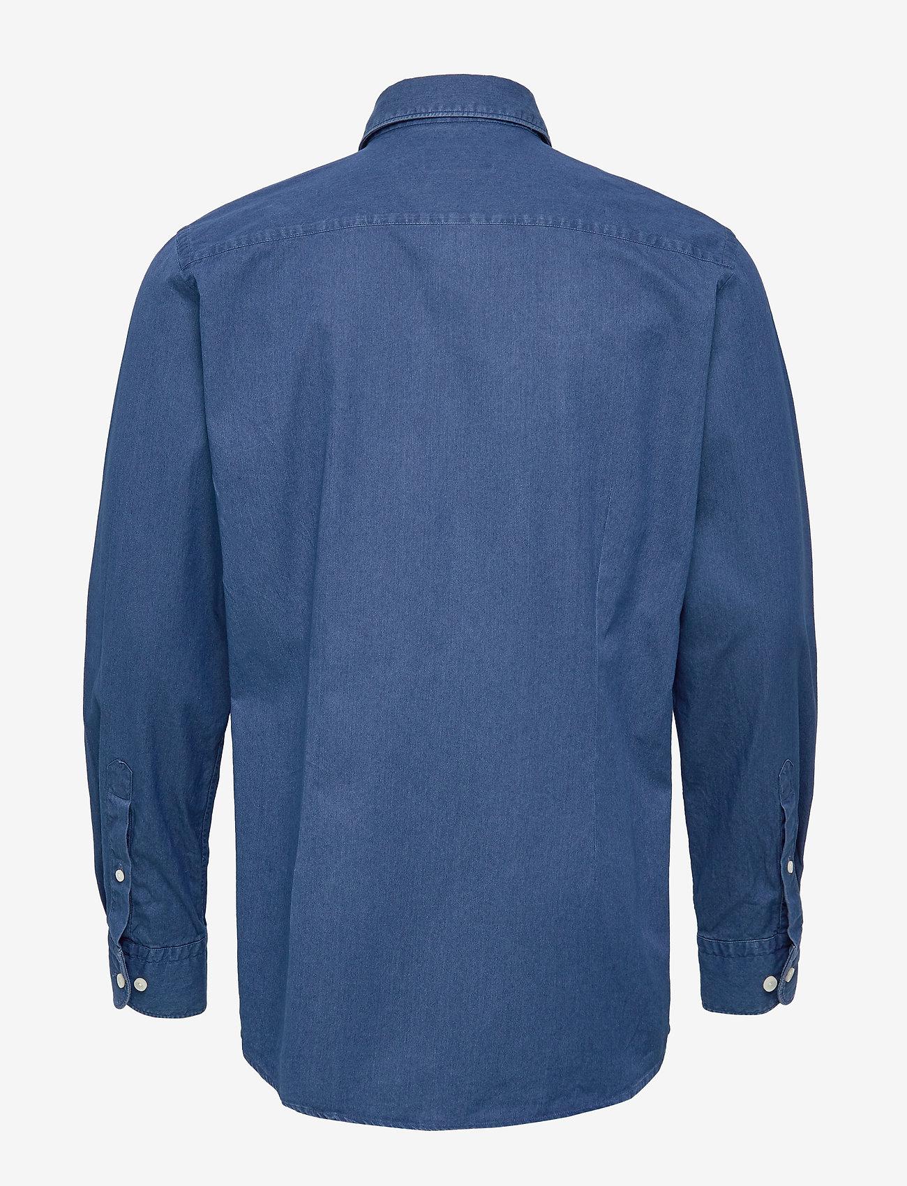 Dressy Denim Shirt - Contemporary Fit (Blue) - Eton D0r1DO