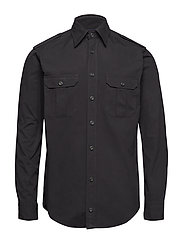 Black Overshirt - BLACK